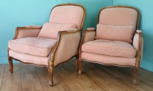French style armchairs - pair (SOLD)